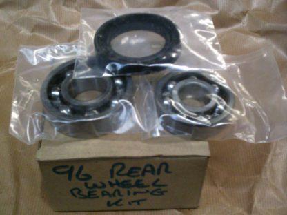 96 V4 & 2 Stroke Rear Wheel Bearing Kit, Bearing & Seal, (one Hub)