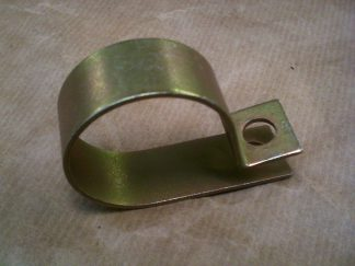 96 V4 C Bracket for Front Box, Exhaust, Requires 2.