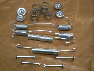 96  & 2 Stroke , Rear Brake Shoe Spring & Pin Kit (Both Sides included)
